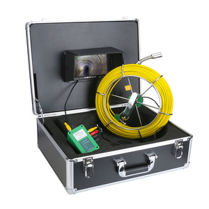 """Image 5 - 50M 40M 30M 20M Drain Pipe Sewer Inspection Video Camera 7"""" LCD Display 1000TVL  LEDs Night Vision Borescope HD Video Camera"""