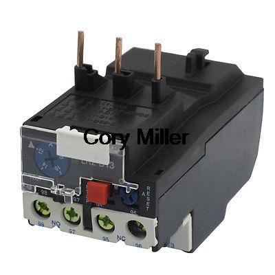 18A Rated Current Thermal Overload Relays JR28-13 Type 2 pin thermal overload protection