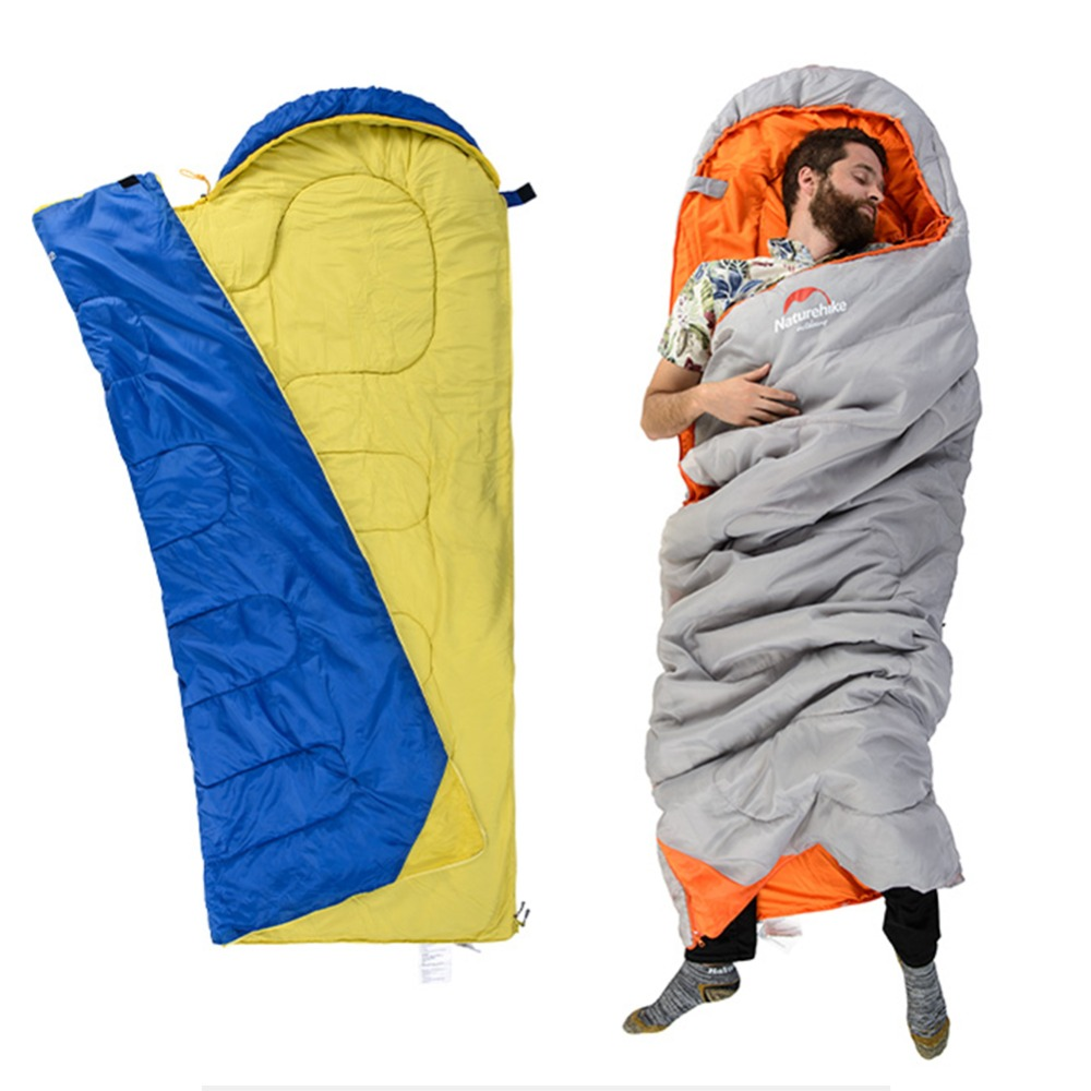 Warm Tents Sleeping Bag Cotton Material Ultralight Camping Sleeping Bag Adult For Hiking Outdoor Travel цена