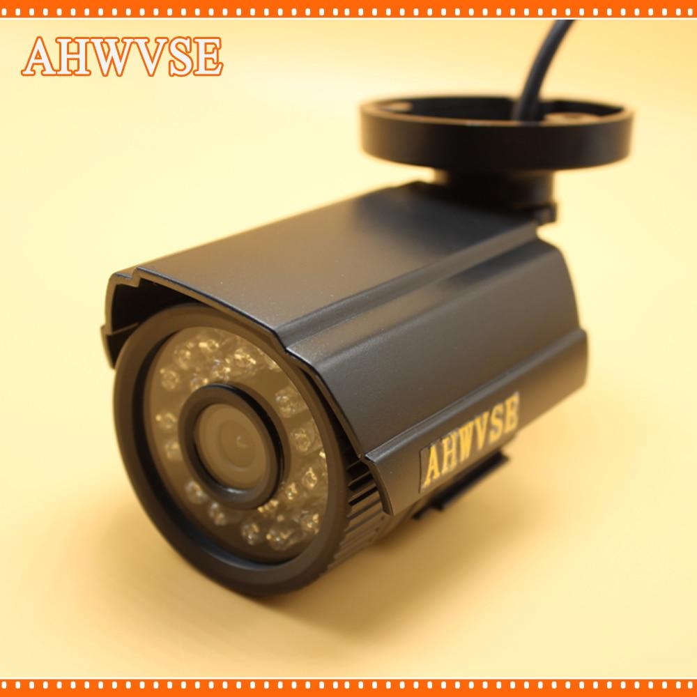 Ahwvse alta resolução hd 1080 p ahd bala câmera 2mp hd analógico cctv de segurança ao ar livre ir corte visão noturna frete grátis