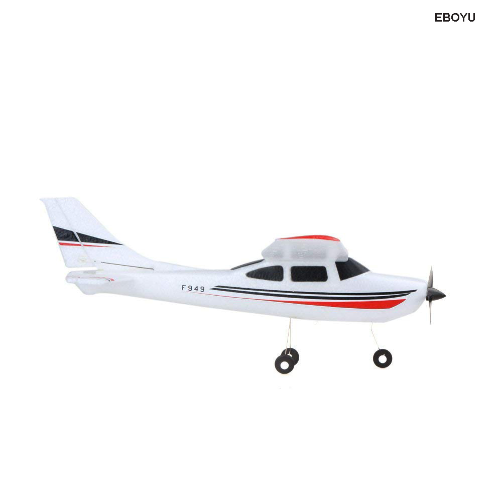 WLToys Updated F949S with GYRO Remote Control Plane Cessna 182 2.4G 3CH RC Fixed Wing Plane flying Aircraft RC Quadcopter Drone
