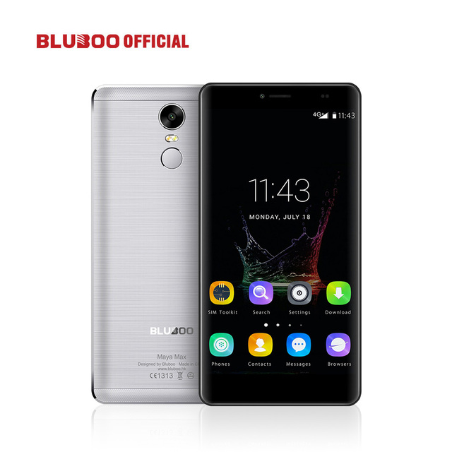 "Original BLUBOO Maya Max 6.0"" MTK6750 Octa Core Smartphone 3GB RAM 32GB ROM 8MP+5MP Cellphone 4200mAh Dual SIM Mobile Phone"