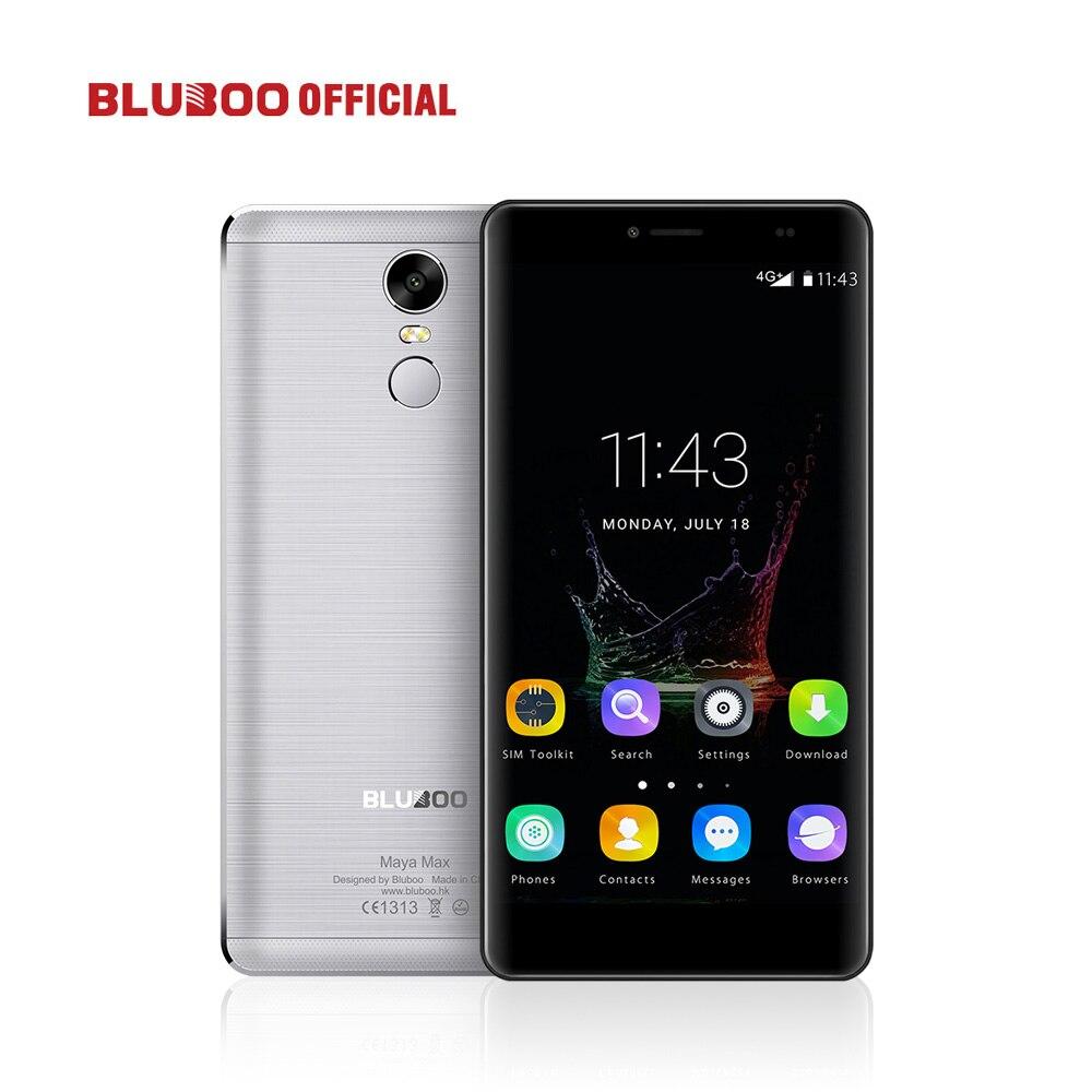 Original BLUBOO Maya Max 6.0 MTK6750 Octa base Smartphone 3 gb RAM 32 gb ROM 8MP + 5MP Téléphone Portable 4200 mah Dual SIM Mobile Téléphone