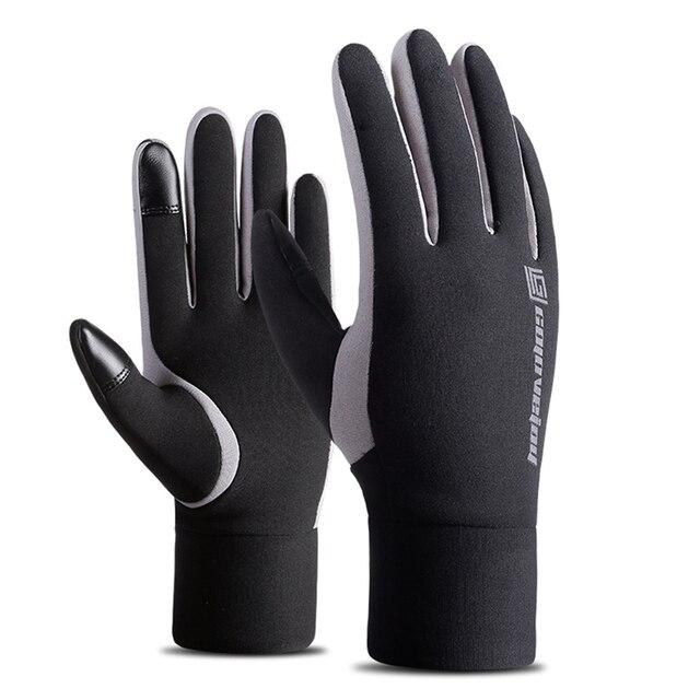Непромокаемые флисовые мужские и женские лыжные перчатки ветрозащитные термостойкие сенсорный экран наружные спортивные велосипедные сноубордические перчатки