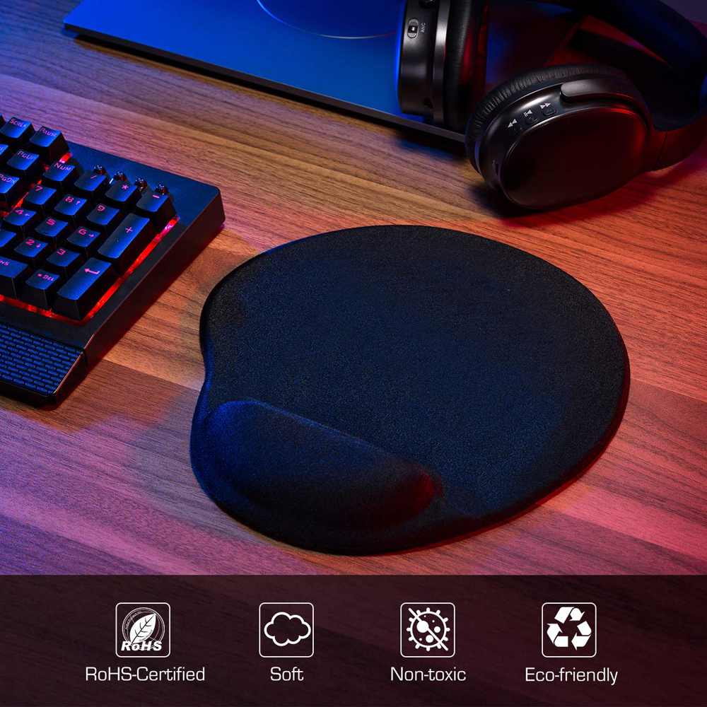 Gaming Mouse Pad with Wrist Rest for Computer mackbook Laptop Keyboard Mouse Mat with Hand Rest Mice Pad with Wrist Support in Mouse Pads from Computer Office