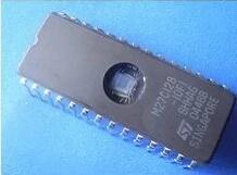 10pcs/lot  M27C128-10F1 27C128 EPROM DIP28