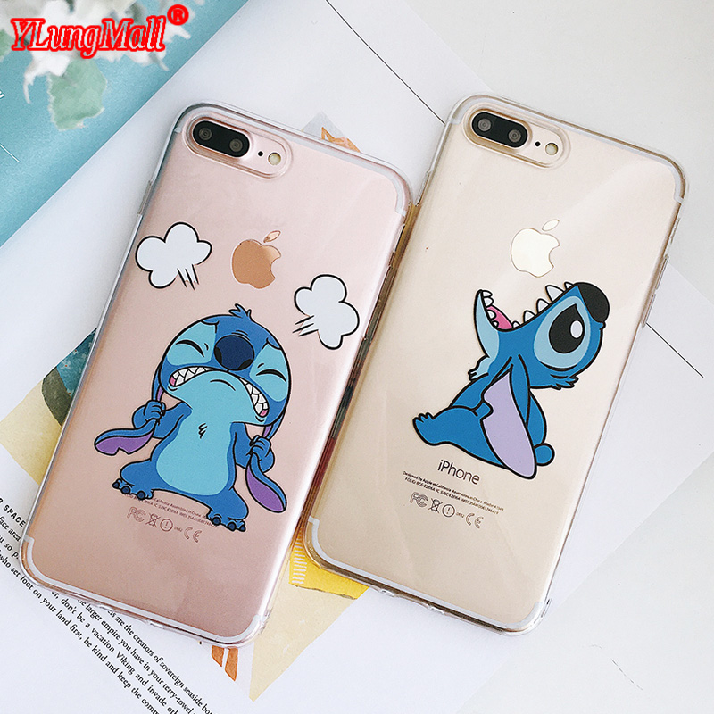 Iyicao Cartoon Moon Stars Hard Case Cover Shell For Iphone 4 4s 5 5s Se 6 7 7plus 8 8plus X Xs Max Xr 6s Plus Less Expensive Half-wrapped Case