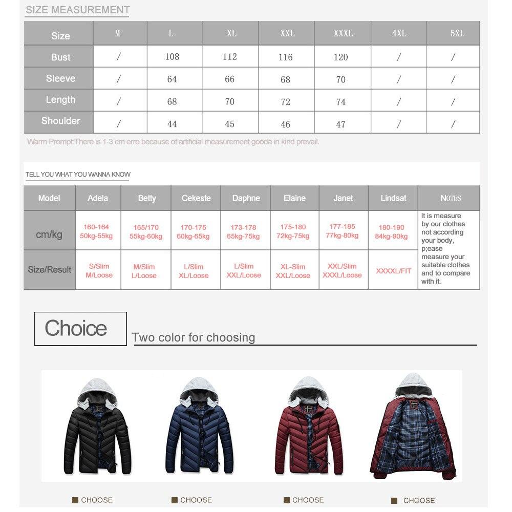 JOOBOX Marke 2017 Polyester Winter Jacken Und Mäntel Dicke Warme - Herrenbekleidung - Foto 6