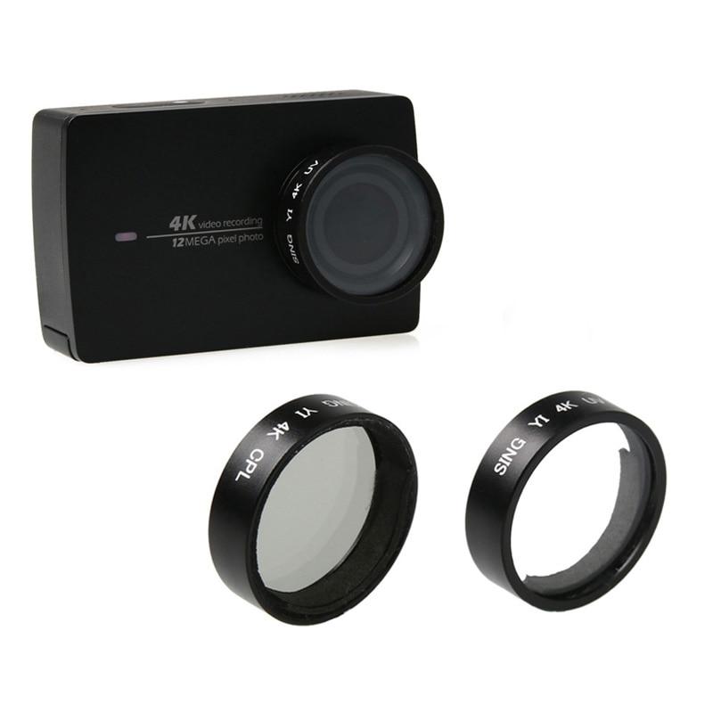 Xiaoyi Sport Camera XIAOMO Xiaoyi Lite 4K MEETBM 52mm CPL Filter Circular Polarizer Lens Filter with Cap for Xiaomi Xiaoyi 4K+