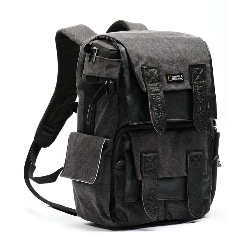Envío Gratis nueva National Geographic NG W5071 Cámara hombros bolsa mochila portátil al aire libre al por mayor