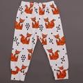 2016 Весной и Осенью Прекрасный Животных Cartton Девушка мальчик новорожденных брюки Детские брюки бренд Хлопок детские брюки одежда для новорожденных 7-24 М