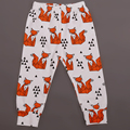 2016 Spring & Autumn Lovely Animal Cartton Girl boy newborn pants Baby pants brand Cotton children's pants baby clothing 7-24M