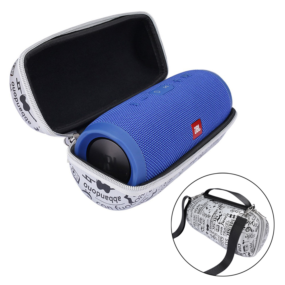 купить Portable Travel Carry Storage Hard Cover Case For JBL Charge 3 Bag Holder Zipper Pouch for jbl charg3 Wireless Bluetooth Speaker онлайн