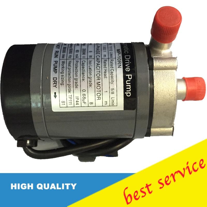 Heat resistance 120 C. Connection 14mm 220v/240v 50hz/60hz Magnetic Drive Pump MP-10RNHeat resistance 120 C. Connection 14mm 220v/240v 50hz/60hz Magnetic Drive Pump MP-10RN