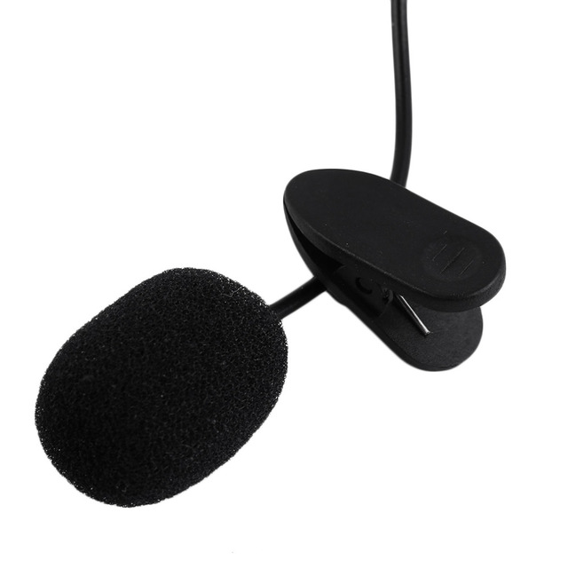 Portable External Microphone with Clip