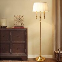 Nordic торшер светодиодный Luminarias чистый Медь Торшеры для Гостиная Мода торшеры Средиземноморский лампа Luminaria