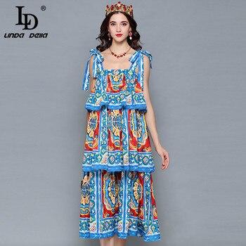 ff3710961ee2781 Product Offer. LD Linda della взлетно-посадочной полосы дизайнерское летнее  платье ...