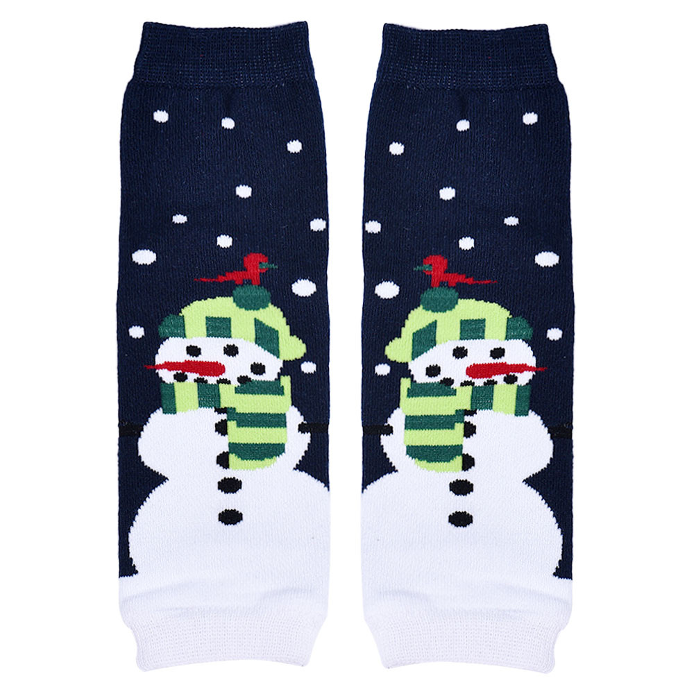 ᐂ#4522 1 par niño rodillera Calcetines calentador de la pierna - a475