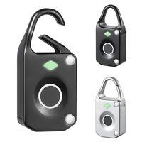 Baggage Bag Luggage Lock Fingerprint Anti theft Keyless For Travel Suitcase Backpack M25