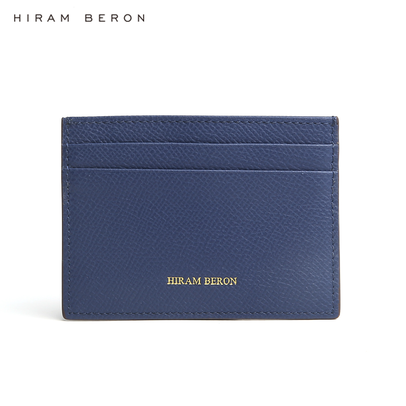 Hiram Beron CUSTOM NAME FREE wallets for men minimalist card allet male business gift for friends