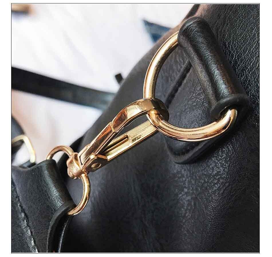 HTB1cTPCnHYI8KJjy0Faq6zAiVXac Leather Backpack Women 2019 Students School Bag Large Backpacks Multifunction Travel Bags Mochila Pink Vintage Back Pack XA529H