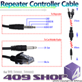 WACCOM REPEATER CABLE PARA TYT WALKIE TALKIE MÓVEL REPETIDOR CONECTER