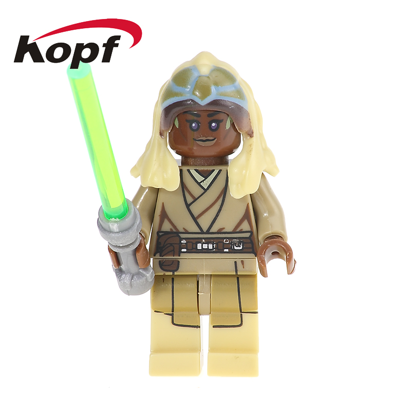Single Sale Wars Lando Calrissian Saesee Tiin Ki-Adi-Mundi Luke Skywalker Building Blocks Education Toys For Children PG709