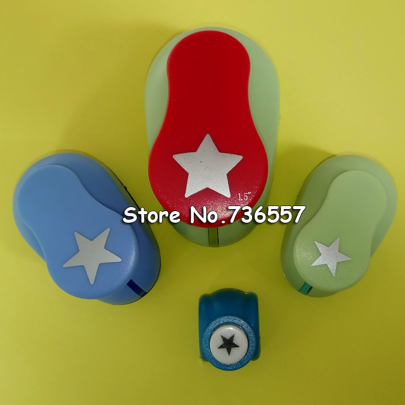 4pcs/set Handmade Crafts And Scrapbooking Tool Paper Punch For Photo Gallery Decoration DIY Gift Card Punches Embossing Device