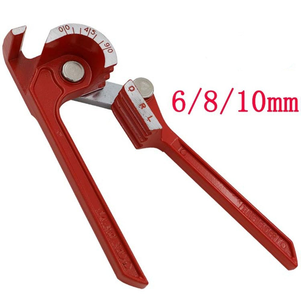 Mini Tubing Bender 6mm/8mm/10mm Tube Pipe Bender for Copper Tube Air Conditioning Tube free shipping bosi new 5 31mm bearing tubing pipe cutter for copper aluminum tube cutting