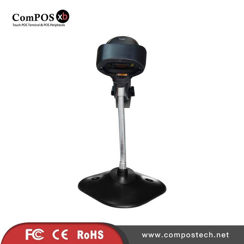 Бесплатная доставка сделано в Китае ручной сканер штрихкодов/1D сканер для розничного магазина ...