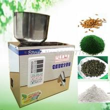 18 free ship Automatic scale herb filling machine font b tea b font leaf grain medicine