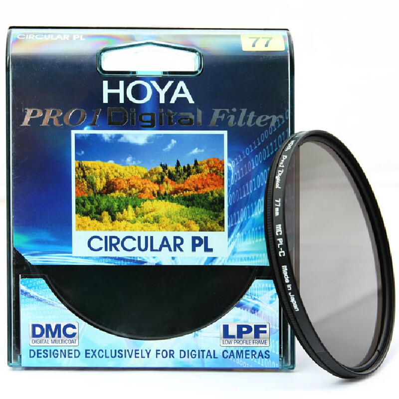 77mm Hoya Filter Set PRO1 MC CPL + PRO1 MC UV Filter Kit For Camera Lens светофильтр polaroid uv cpl fld 77mm набор фильтров pl3fil77