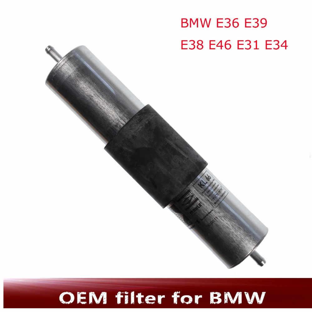 hight resolution of car fuel filter for auto bmw e36 e39 e46 e31 e38 e34 new original oem no