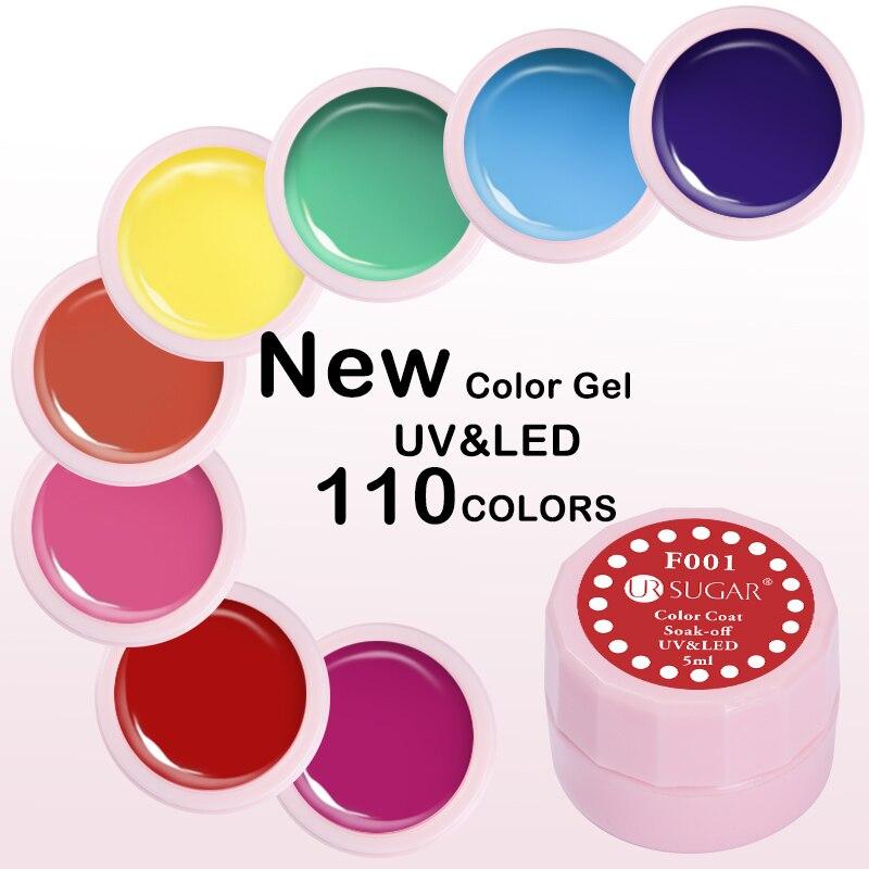 где купить 12 Colors UR SUGAR Nail Gel Polish Natural Nude Camouflage Pure Gel Varnish Soak Off UV LED Nude Color Painting Gel Lacquer дешево