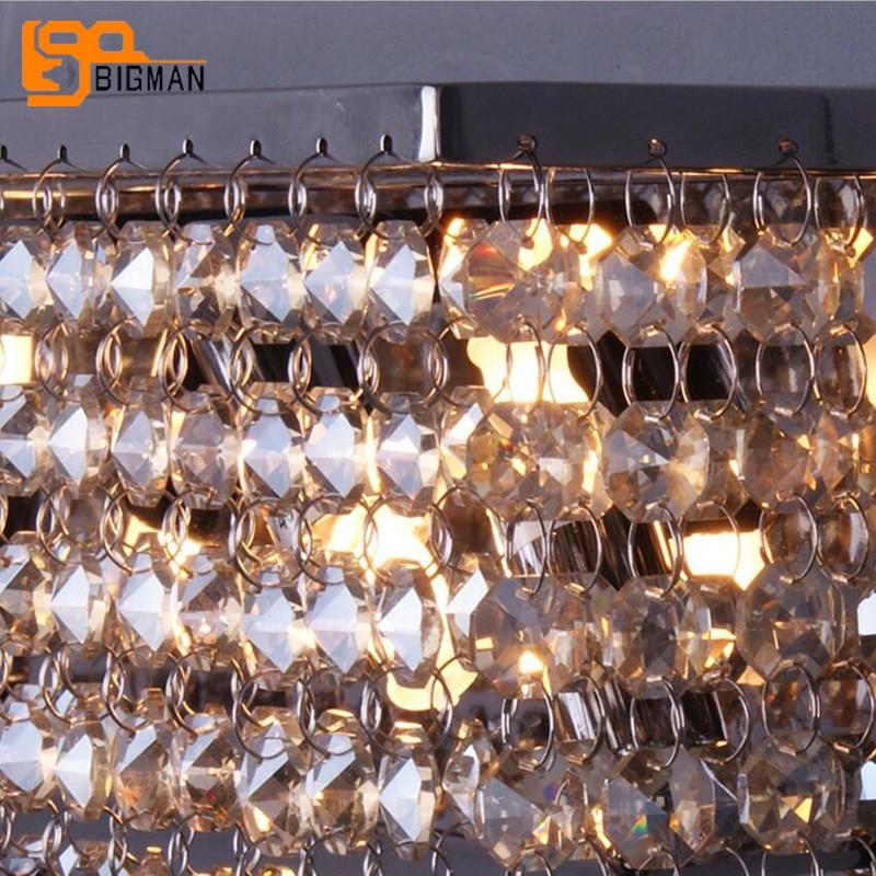 beautiful design crystal wall lamp modern LED light wall luminare length 36cm home lighting