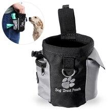 UEETEK мини-сумка для собак на открытом воздухе, переносная сумка для питомцев, поясная сумка на шнурке, переноска для домашних животных, еда, закуски, награда, поясная сумка
