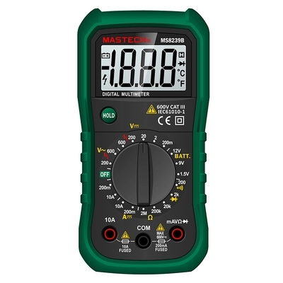 MASTECH MS8239B High Quality Multifunctional Pocket Digital Multimeter Multi Meter with LCD Portable avometer цены
