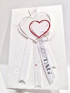 Image 4 - Piggy craft wykrojniki do metalu cut foremka szablon w kształcie serca tamborek papier do notatnika nóż do rękodzieła formy podkładki chroniące przed uderzeniami ostrzy umiera