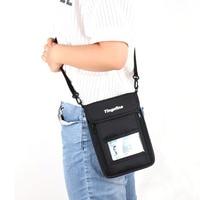 RFID antirrobo seguridad monedero Masajeadores de cuello bolsa de viaje correa del teléfono celular del bolso pasaporte tarjeta del bolso cremallera holder senderismo