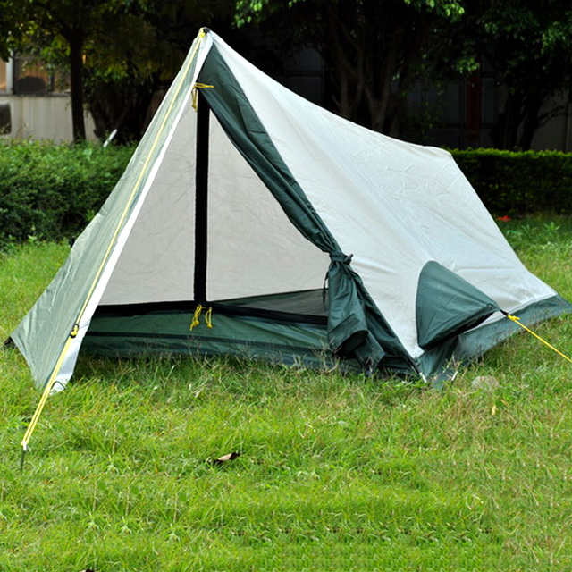 The famous brand ultra-light single layer tent c&ing supplies water-resistant sunscreen for & The famous brand ultra light single layer tent camping supplies ...