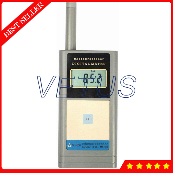 SL-5856 Digital Sound sleep machine with Measuring A .40 to 125dB sound meter sl 5856 40 125db free shipping