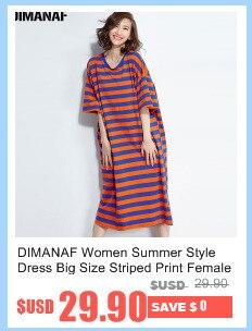 3282c92b27e 2019 DIMANAF Women Dress Plus Size Female Summer V Neck Plaid Loose ...