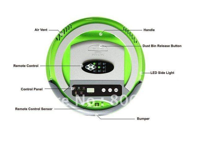 Infinuvo Cleanmate QQ-2 /Robotic Vacuum Cleaner,floor cleaning robot,robot cleaner vacuum,vacuum cleaner robot