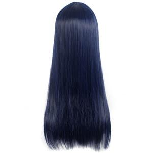 Image 3 - L mail parrucca Sora no Metodo di Shione Togawa Parrucche di Cosplay Lungo Blu Nero Colore Misto Cosplay Parrucca Resistente Al Calore capelli sintetici