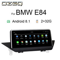 OZGQ Android 8.1 System IPS Screen Car GPS Navigation Multimedia Headunit For 2009 2015 BMW X1 Series E84 NBT CIC With Bluetooth