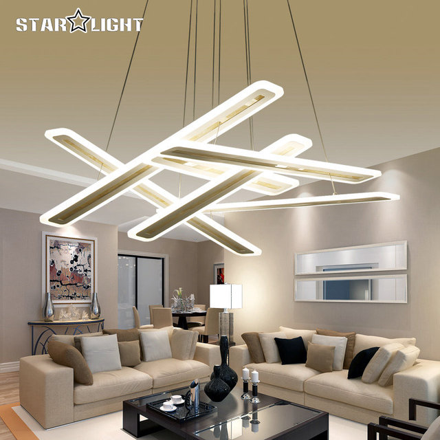 Captivating New Modern Led Hanging Chandelier For Living Room Bedroom Lighting Square  Art Indoor Suspension Chandelier Lamp