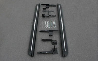 Full Set Aluminum Side Door Step Running Board For LAND ROVER LR4 Discovery 4 2011 2012 2013 2014