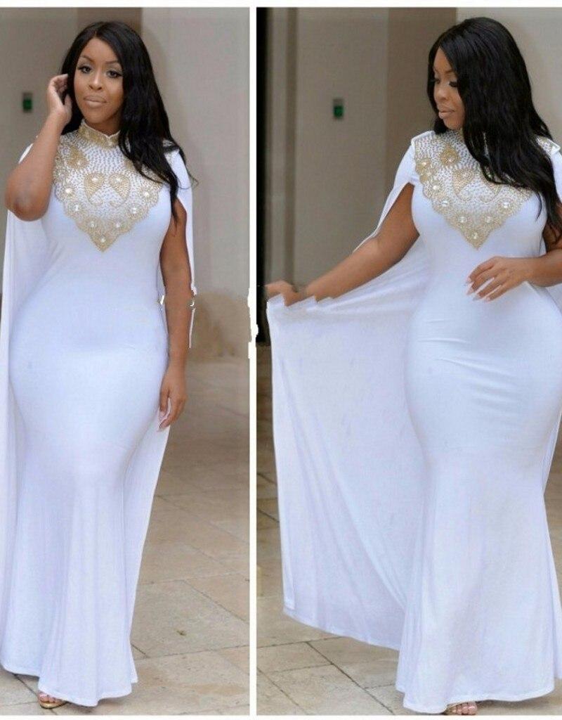 Cheap white plus size prom dresses