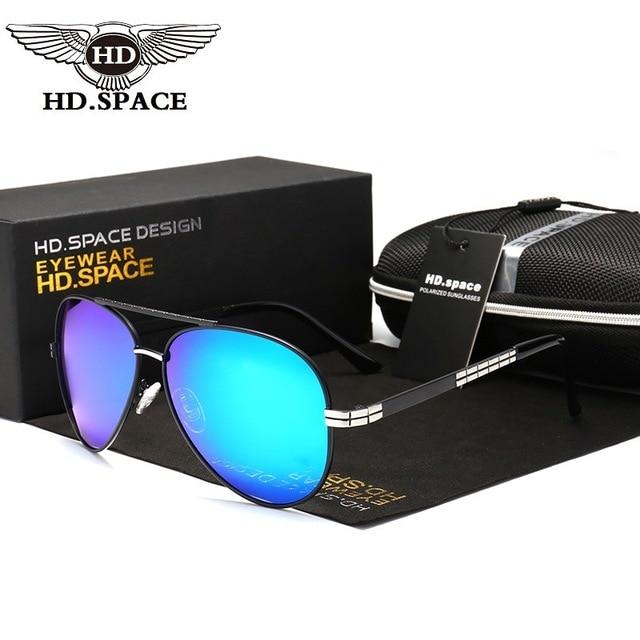 1a80c5d4c64 HD Hot Fashion Polarized Sunglasses Classic Mirror Glasses UV400 Eyewear  for Men Women Driving Fishing Police