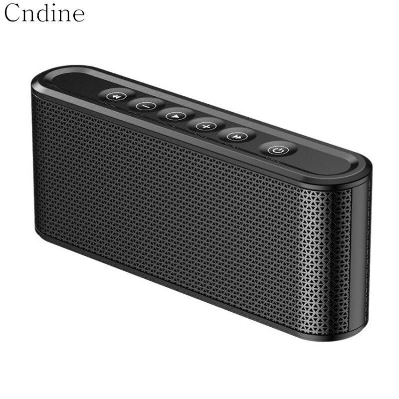HiFi Högtalare Bärbar Bluetooth Touch Subwoofer Bass Stereo Dual ... 218c53ab66606